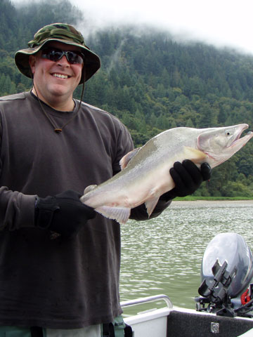 Fraser River salmon fishing guide photos