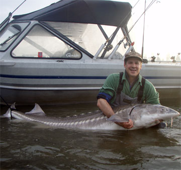 sturgeon fishing photos