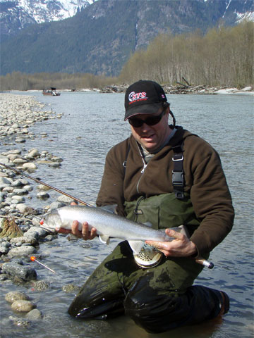 trout-char fishing photos